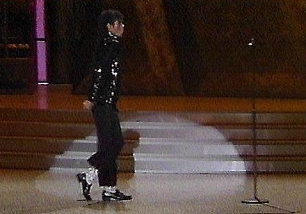 While in the musical group, The Jackson 5, Michael Jackson was known for Th e Robot in the 1970s. About a decade later, Jackson introduced the moonwalk on Motown 2