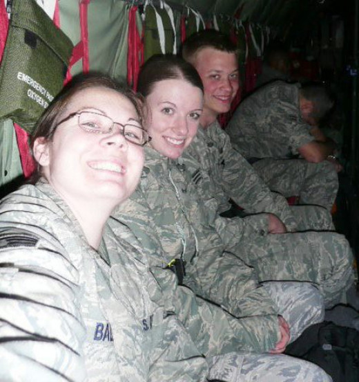Packed Like Sardines in a KC135 (2009)