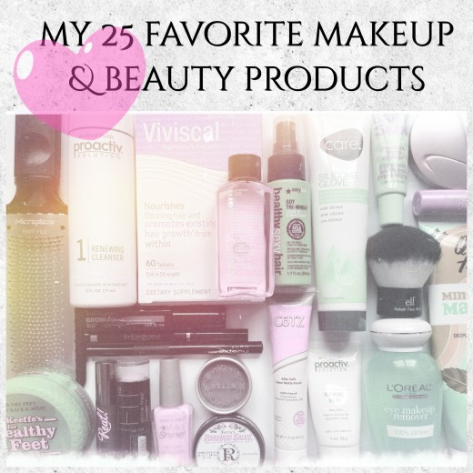 Find out which are my 25 favorite makeup & beauty products.