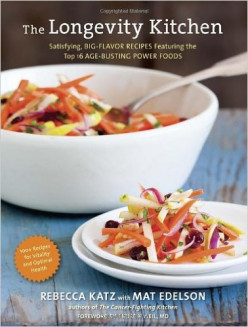 The Longevity Kitchen by Rebecca Katz with Mat Edelson: how to live healthy with super foods.