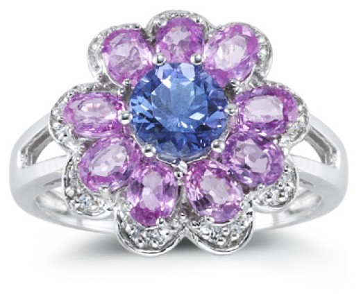 marquise tanzanite ring