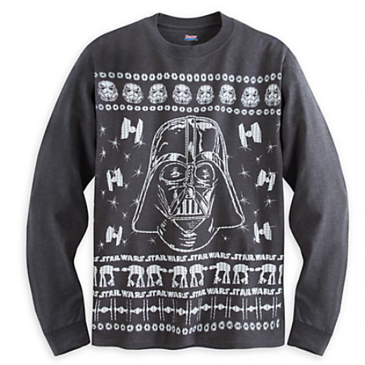 Dark Side sweater from the Disney Store.