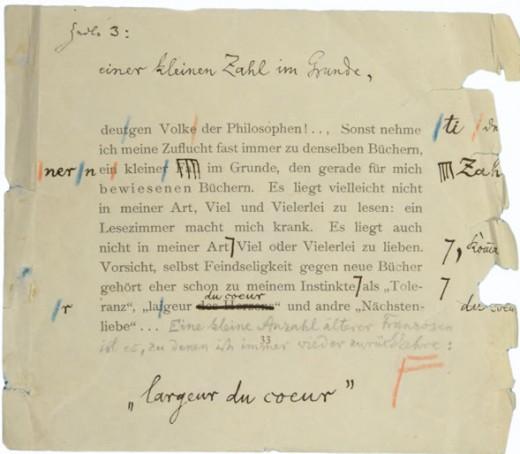 """Nietzsche's """"Ecce homo: Wie man wird, was man ist"""" (1908)"""