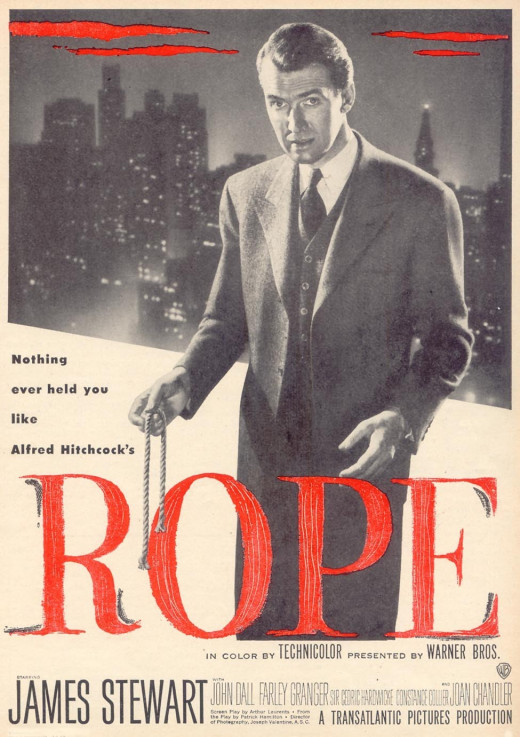 """Poster for """"Rope"""""""