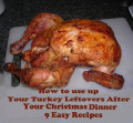 How to Use up Chicken & Turkey Leftovers After Your Christmas Dinner: Nine Quick Easy Recipes