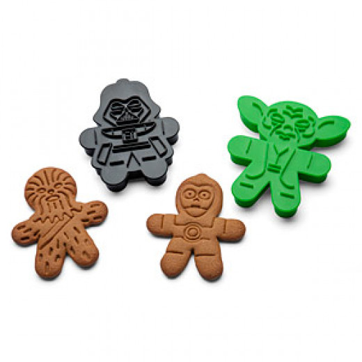 Star Wars cookie cutters from Think Geek.