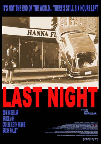 "Poster for ""Last Night"""