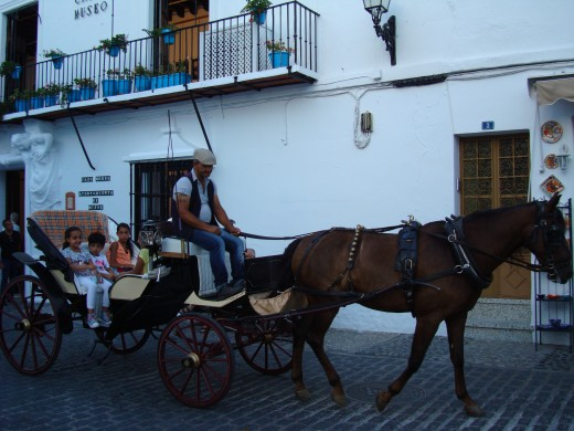 Outside of the House Museum of Mijas