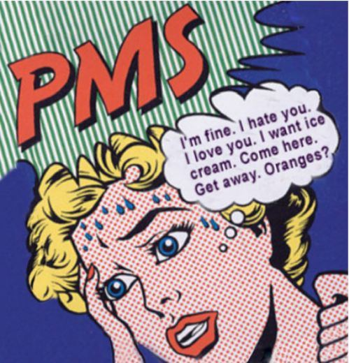"""Funny"" PMS cartoon"
