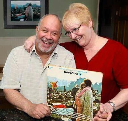 After all these years of being on the cover of Woodstock, this couple is still together! YAY!