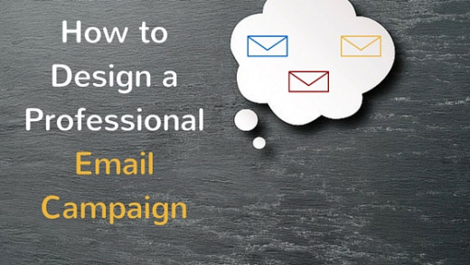 how to design a professional email campaign