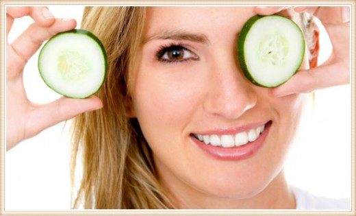Chill out! Soothe irritated skin with refreshing cucumber.