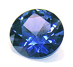 Yugo .65 carat cornflower blue sapphire