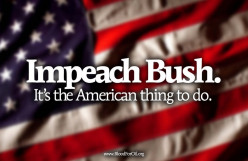 Should Bush have been impeached for millions in taxpayer funds he gave to a company that went bust
