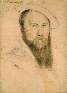 The Love of Anne Boleyn's life, Thomas Wyatt.