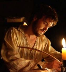 The fictionalized portrayal of Sir Thomas Wyatt on Tudors.
