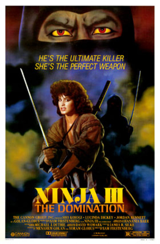 """Ninja III: The Domination"" theatrical poster"