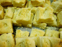 Thick Buttery 4-2-1 Shortbread Cookies