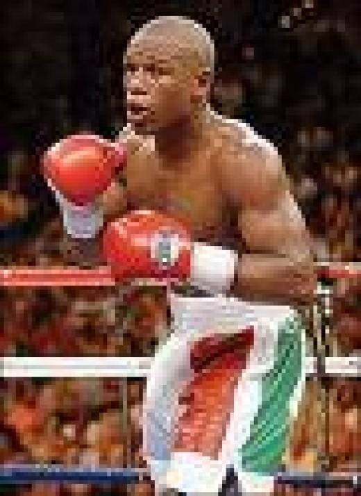 Welterweight: Floyd Mayweather Jr.