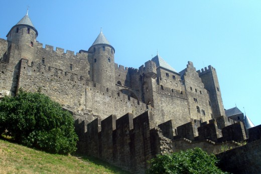 Fortified City Wall, Carcassone
