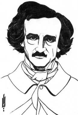 Often in photos, Poe looked forlorn at best. We can't blame him when so many deaths were experienced during his life.
