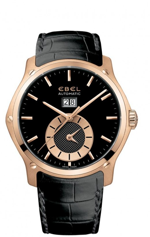 Ebel Classic Men's Second Time Zone