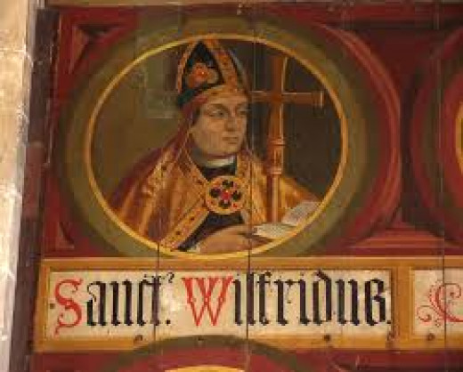 Saint Wilfrid, social reformer and founder of Ripon Cathedral (Aet Hripum)