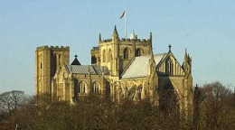 Ripon Cathedral, built on the foundations of an earlier church founded by St Wilfrid