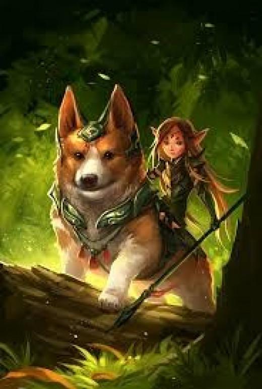 Corgi and Fairy