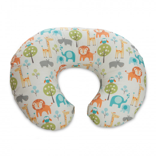Boppy Nursing Pillow in Peaceful Jungle