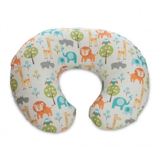 Boppy Nursing Pillow in Peaceful Jungle