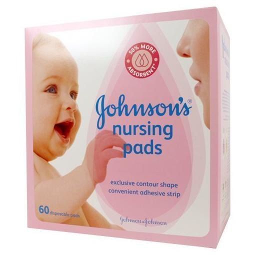 Johnson's Nursing Pads - Contour