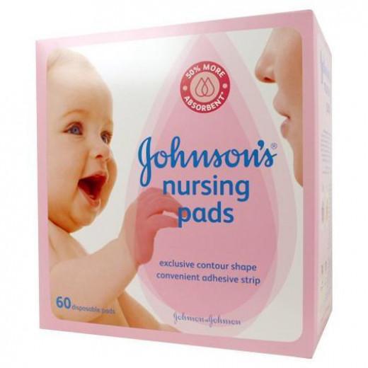 Johnson's Nursing Pads - Contour