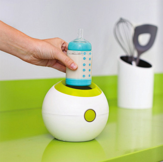 Boon Orb Bottle Warmer, Green