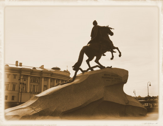 The Bronze Horseman, St. Petersburg