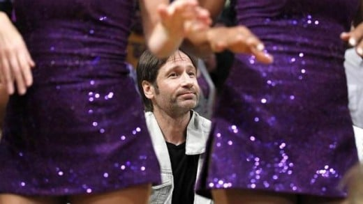The most PG Duchovny being Duchovny pic of all time
