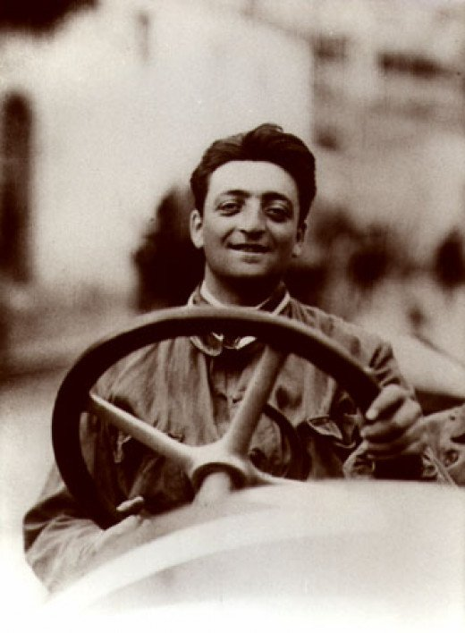Enzo Ferrari in the 1920s