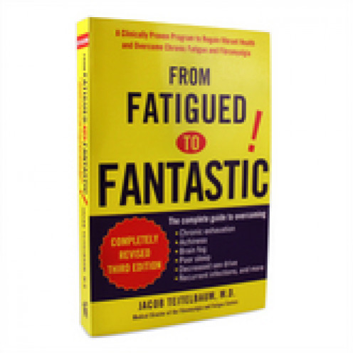 "Cover of the ""Completely Revised Third Edition"" of ""From Fatigued to Fantastic!"" by Jacob Teitelbaum, M.D."