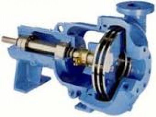 Discflo pump
