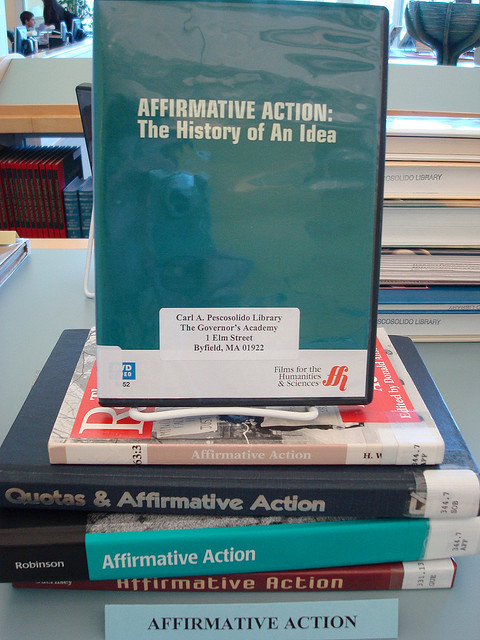 Should there be action taken against affirmative action?