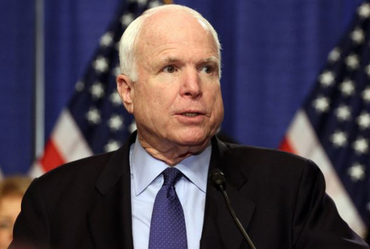 Sen. John McCain was a prisoner of war in North Vietnam for 6 years.