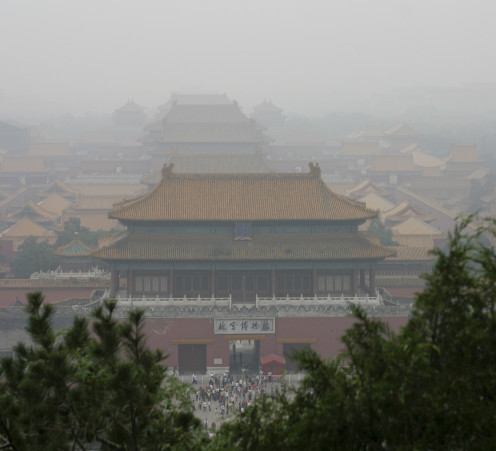 Forboding Air in the Forbidden City