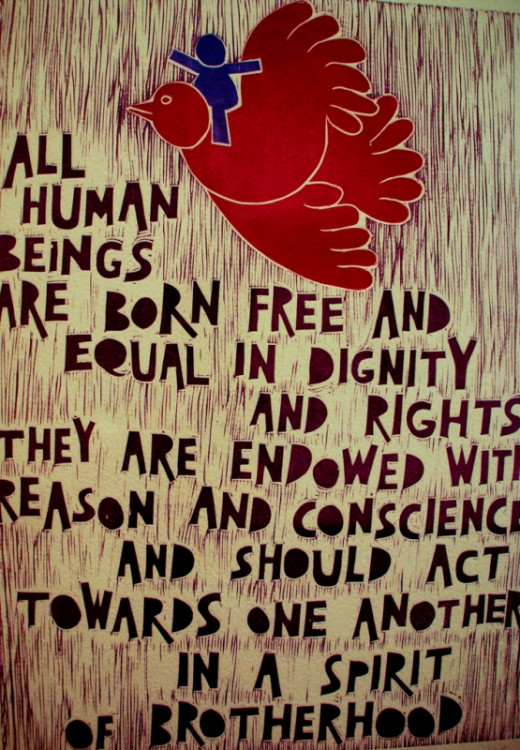 Rights of individual humans