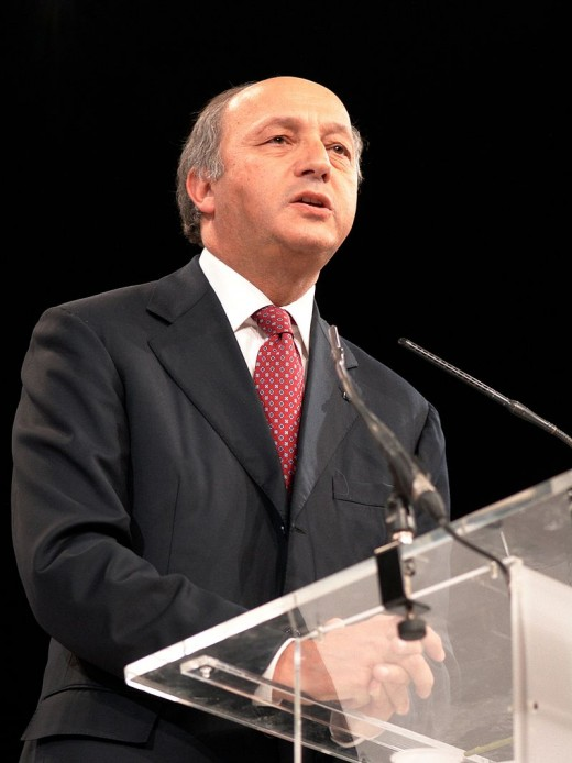 Laurent Fabius, 2007.  Image by Marie-Lan Nguyen, courtesy Wikimedia Commons.