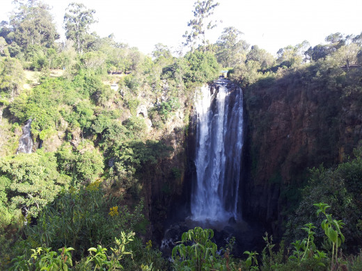 waterfall in the aberdares