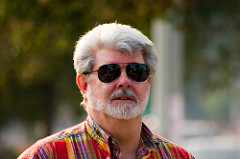 The wizard of fillmmaking, George Lucas