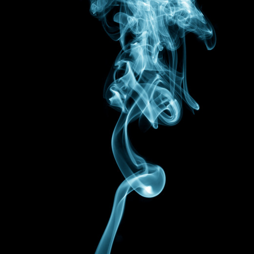 Ethereal faith is like a vapor of smoke. Nebulious and impossible to grasp.