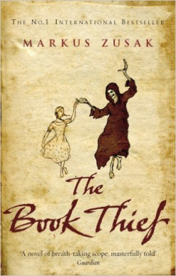 The Reaper - on cover of 'The Book Thief' by Markus Zusak (ISBN ISBN 978-0-552-77389-8