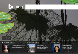 You can earn points on Bing Rewards by browsing their news section