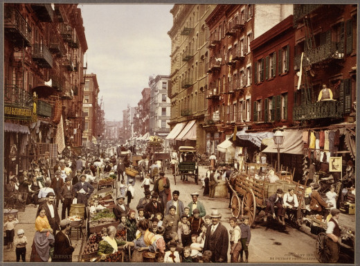 Tenements of the 1890s.